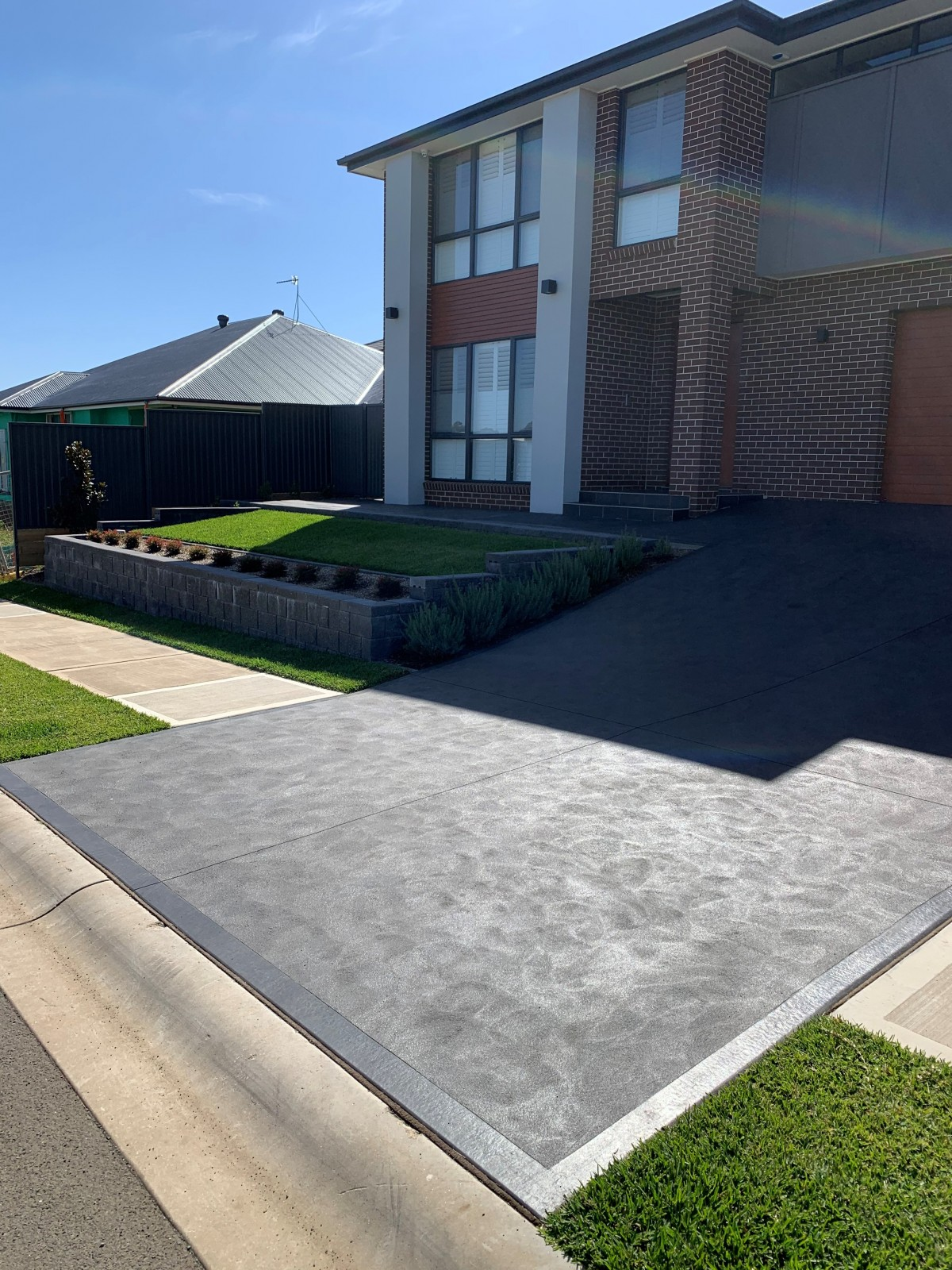 Sydney concrete installation for driveway Natural Services