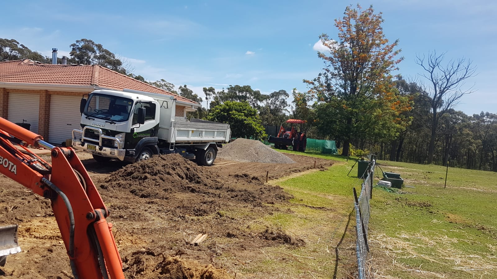 Sydney concretors excavating for concrete installlation